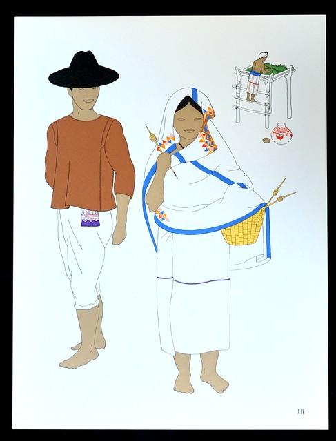 Jamiltepec Oaxaca Hombre Mujer Clothing Trajes Art Mexico