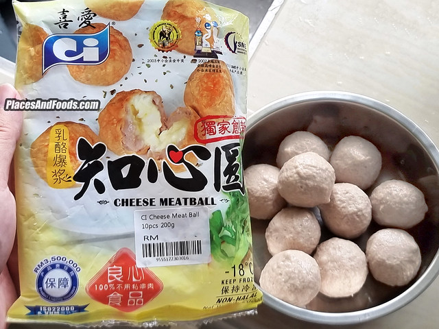 CI Cheese Meat Ball