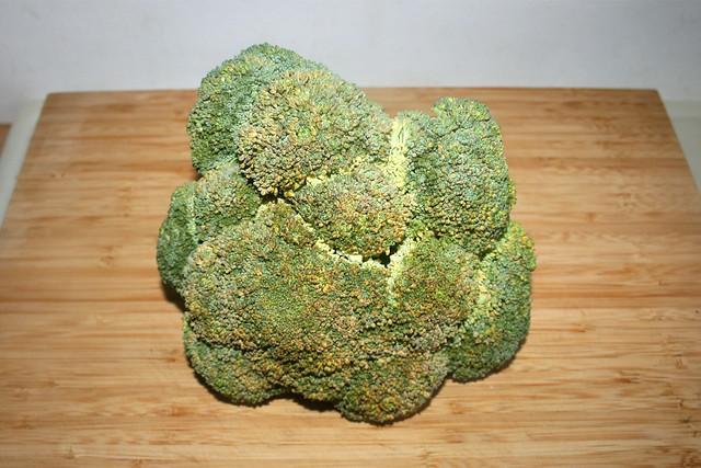 01 - Ingredient Broccoli / Zutat Broccoli