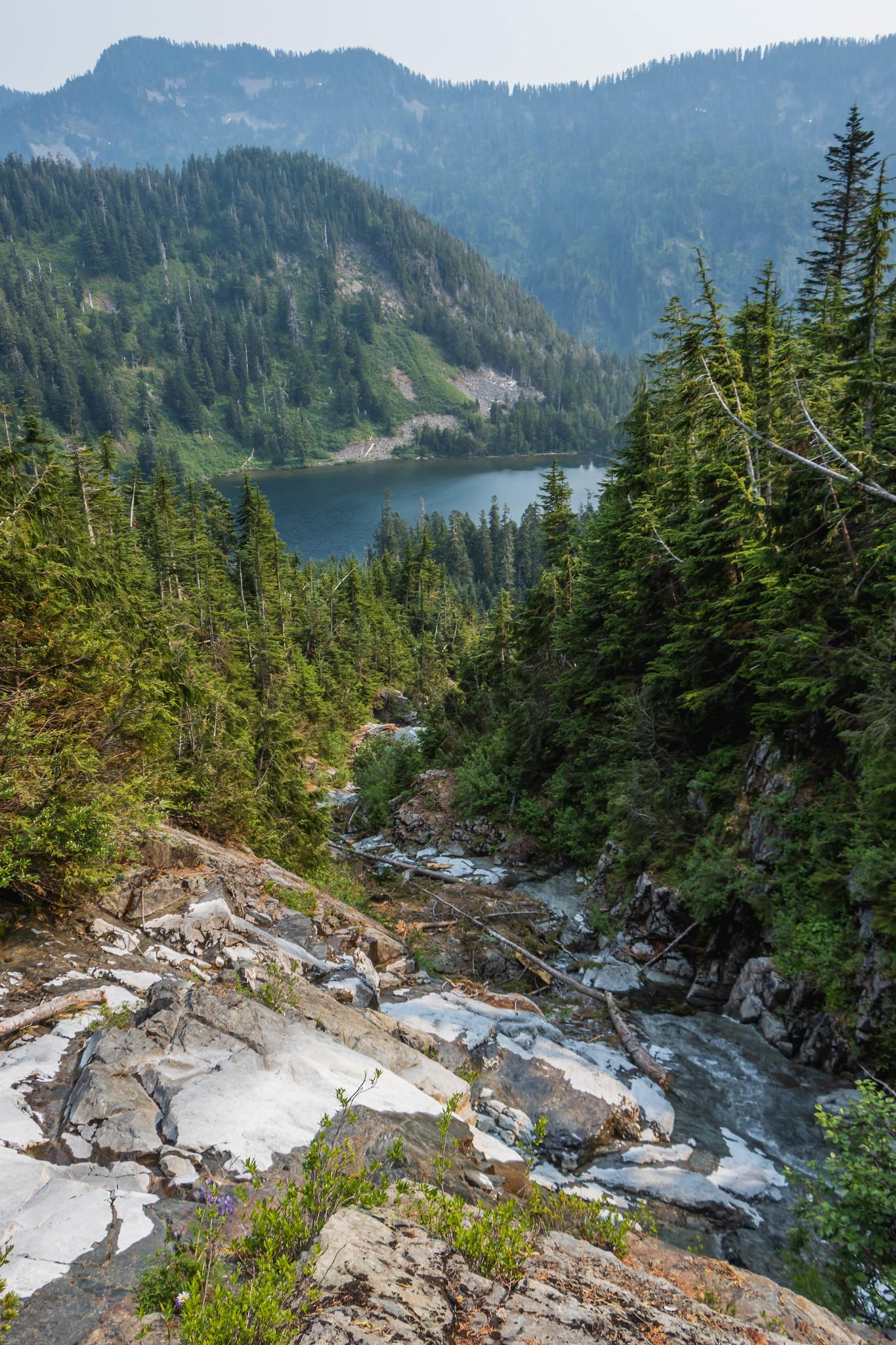 Taking the waterway to Crater Lake