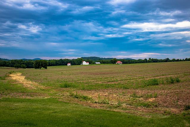 Across the Monocacy Battlefield