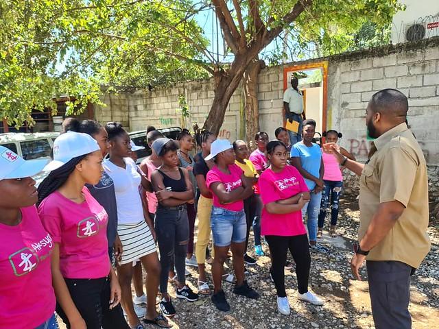 2021 - Girls Act - AHF Haiti - IWD WAD Gatherings