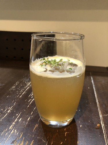 Whiskey Thyme Cocktail