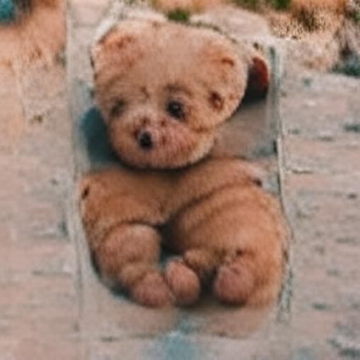 'a teddy bear' VQGAN+CLIP codebook Text-to-Image