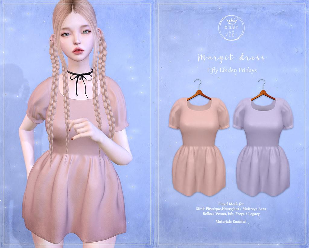 ::C'est la vie !:: Margit Dress for FLF Aug.6.2021