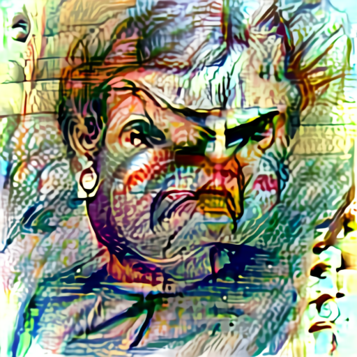 'a sketch of an angry person' Aleph2Image Delta Text-to-Image