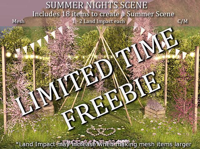 LOVE SUMMER NIGHTS SCENE LIMITED