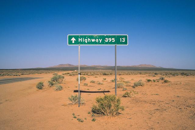highway 395 13. mojave desert, ca. 2012.