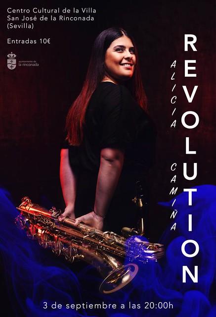 Cartel del concierto Revolution