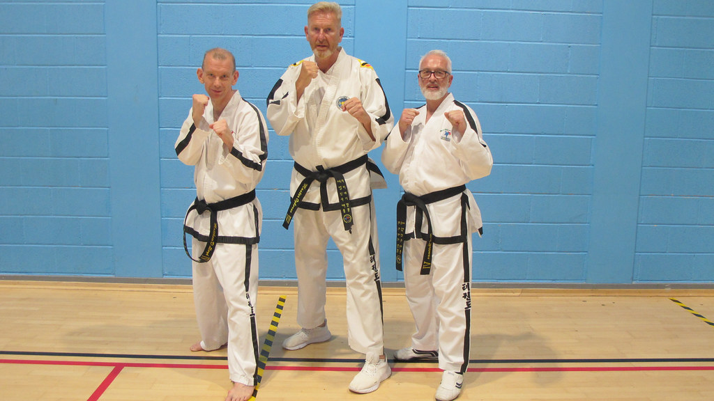 3 martial arts practitioners