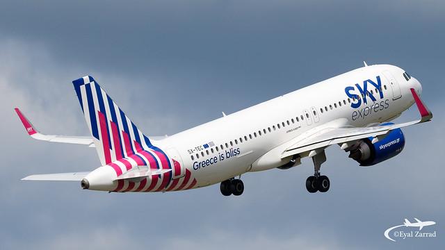 HAM - Sky Express Airbus A320Neeo SX-TEC