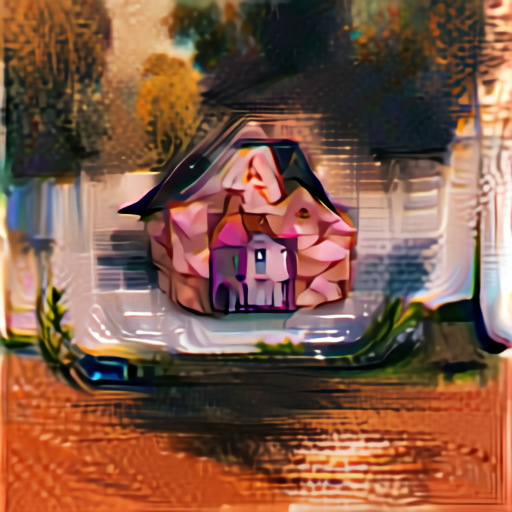 'a house' Aleph2Image v2 Delta Text-to-Image