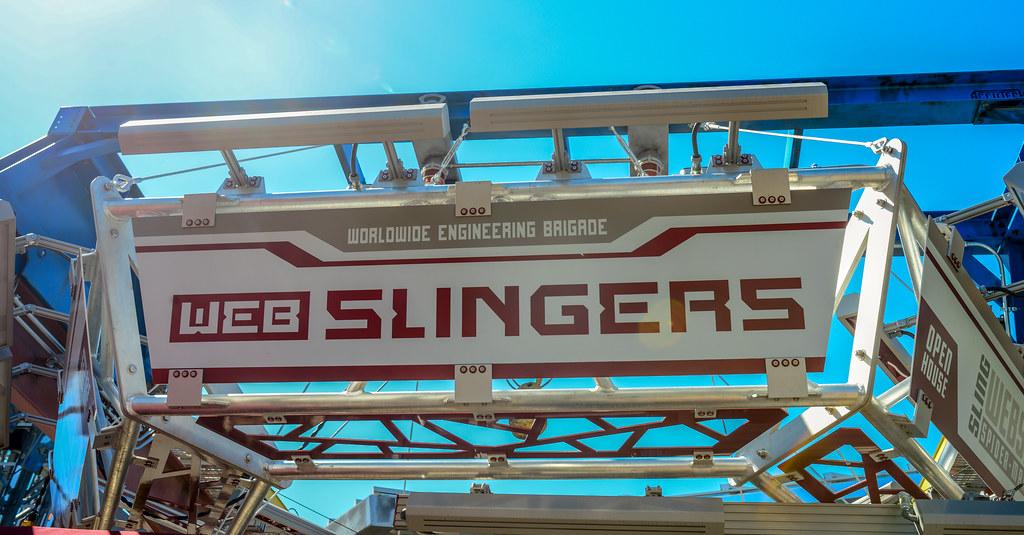 WEB Slingers sign DCA