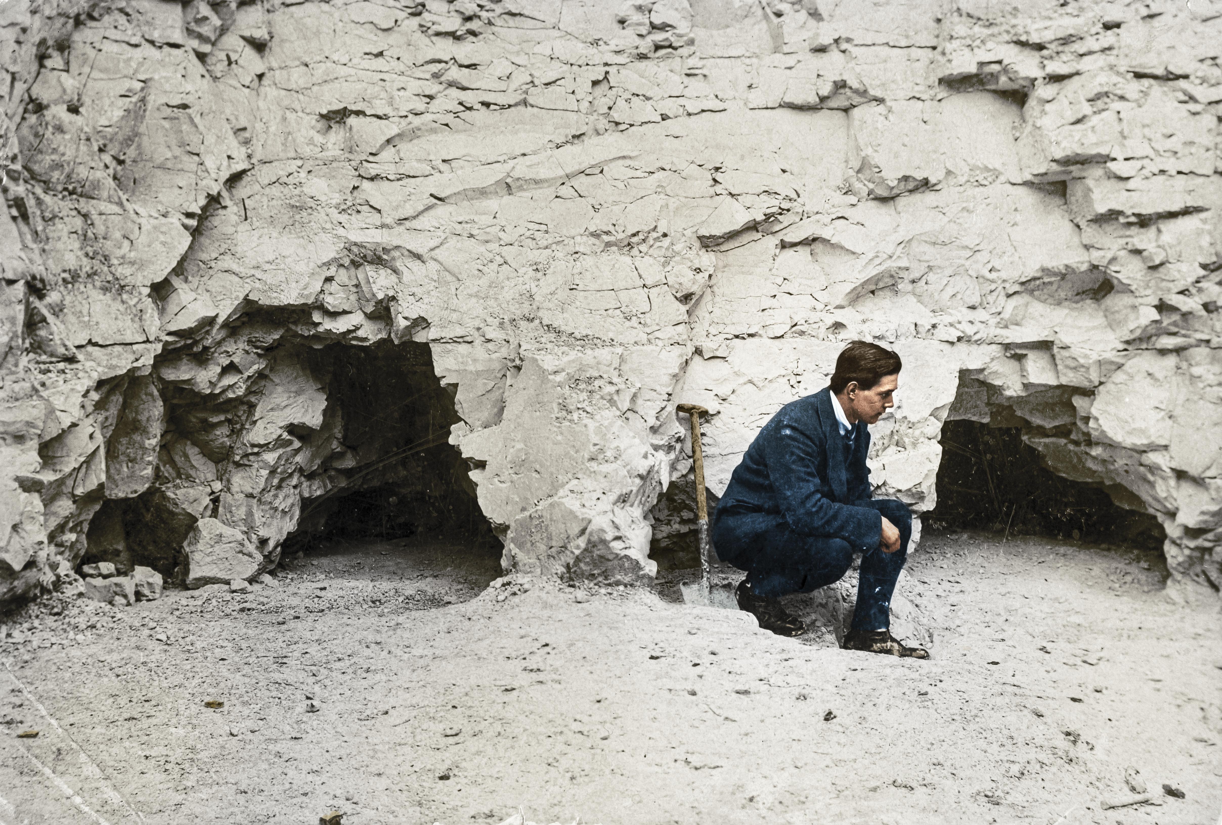 John Pull - Worthing's Hero Archaeologist