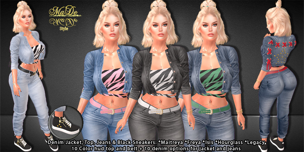 [>Ma'De<] Aneesa Full Outfit~ ORSY EXCLUSIVE