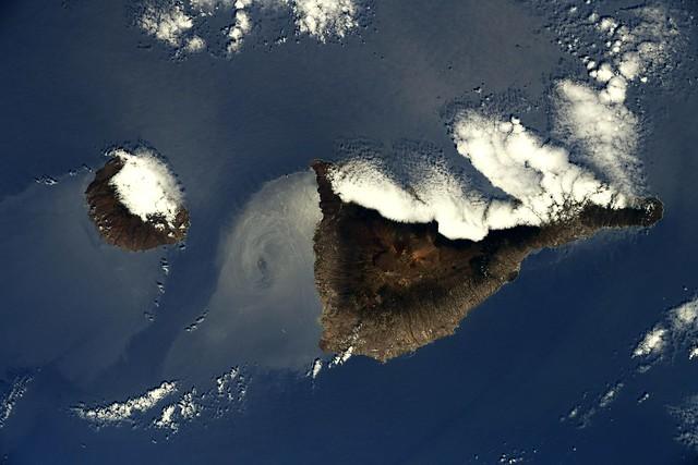 La Gomera and Tenerife