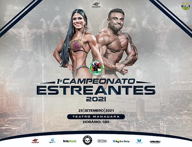 1• Campeonato Estreantes de Fisiculturismo e Fitness