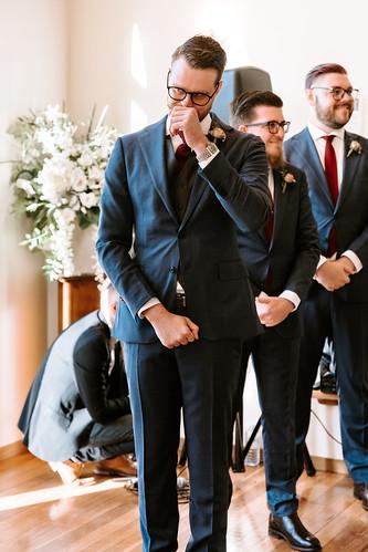 the groom shed a tear