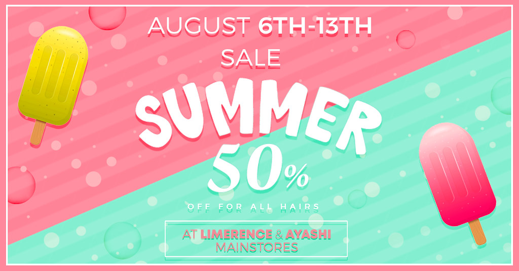[^.^Ayashi^.^] The Summer sale!