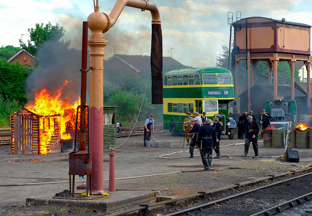 Severn Valley Railway. 1940's  event