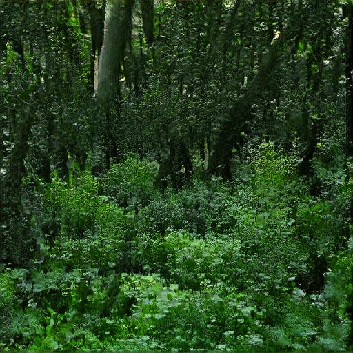 'dense woodland' Big Sleep Minmax Text-to-Image
