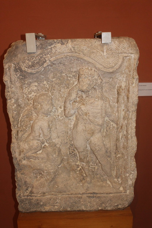Relief of Oedipus and the Sphinx