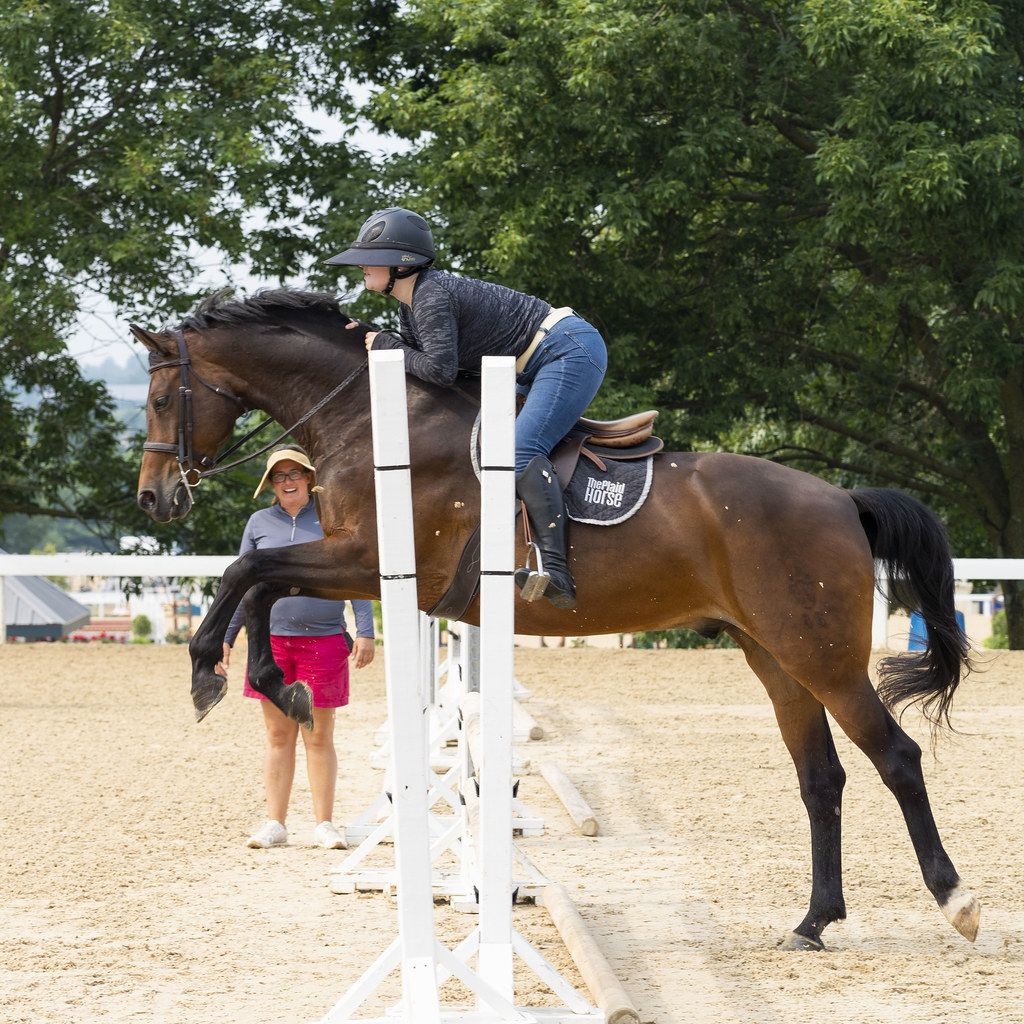 Jumping Practice with Reuben