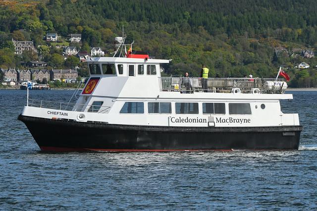 MV Chieftain -- Gourock -- 22-05-21