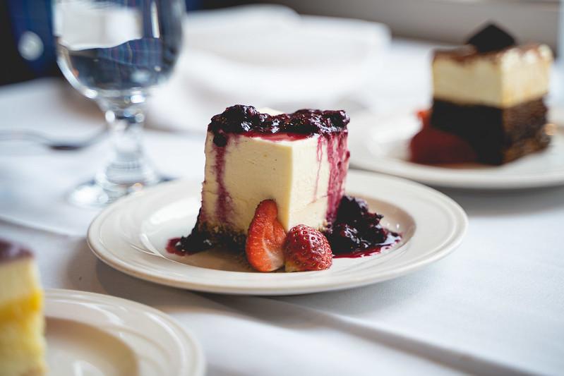 marionberry cheescake dessert
