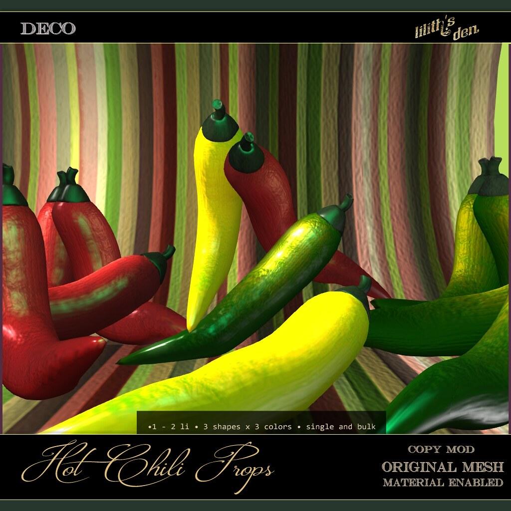 Lilith's Den – Hot Chili Props