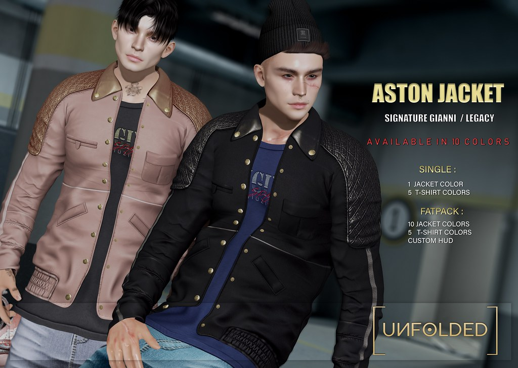 UNFOLDED X Aston Jacket ♥