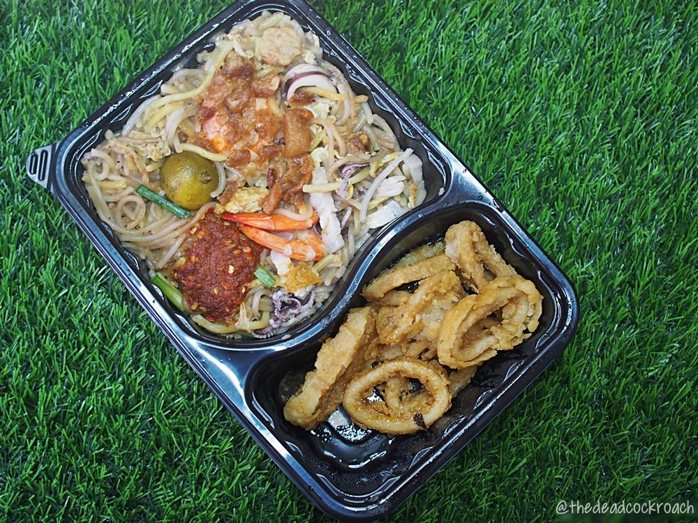 singapore,mian wang 1971,salted egg calamari,fried hokkien prawn noodle,food review,fried hokkien prawn mee,sambal belacan pork belly,review,面王1971,blk 537 bukit batok street 52,food,hokkien mee,hokkien noodle