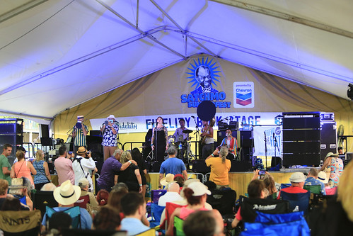 Meschiya Lake & the Little Big Horns at Satchmo SummerFest 2021. Photo by Michele Goldfarb.
