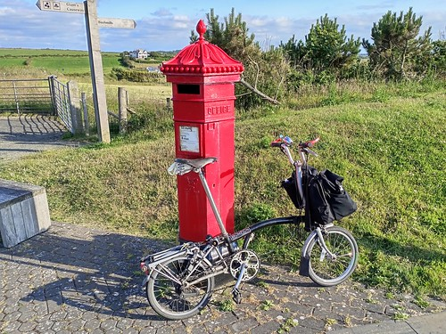 Brompton and Victorian post box