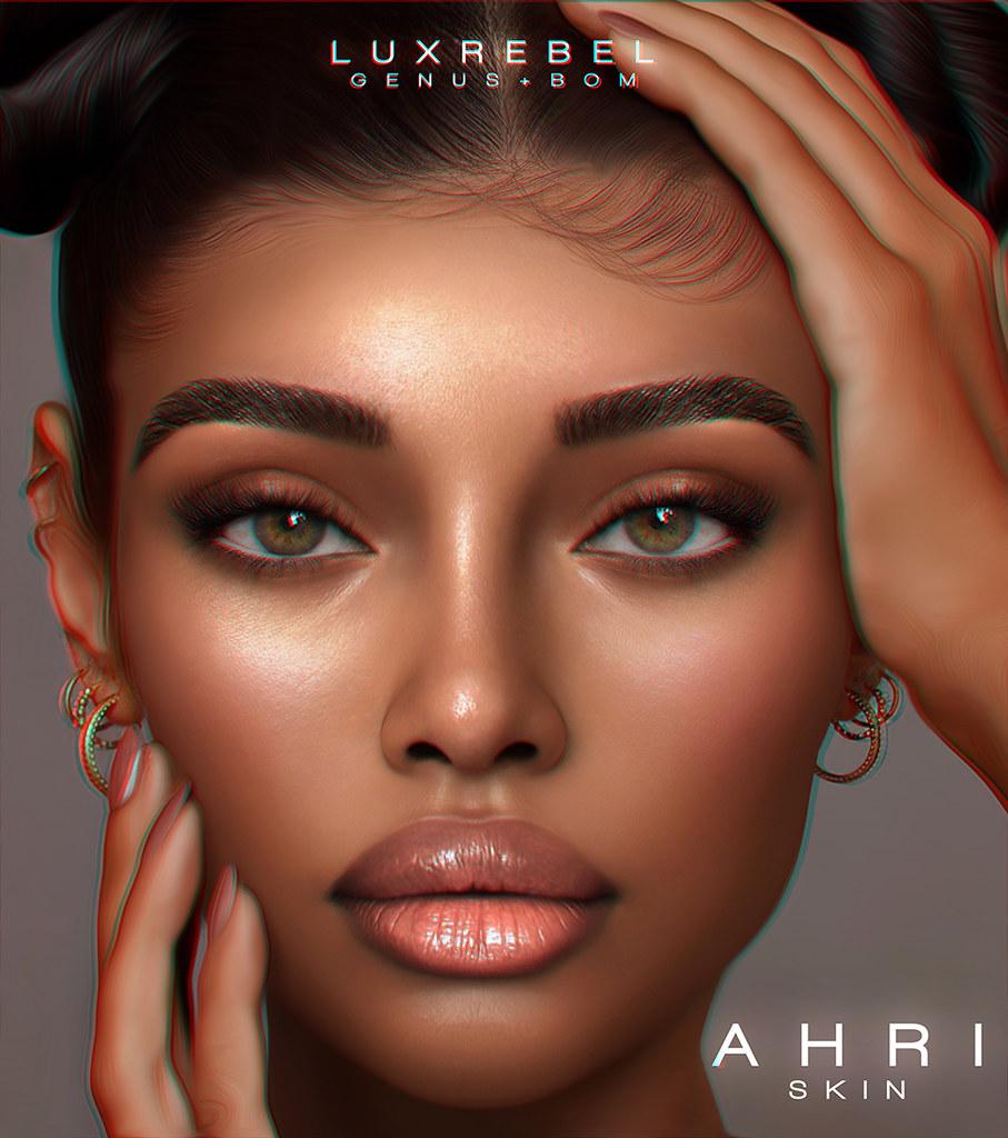 NEW! LUXREBEL ''AHRI'' Skin [GENUS+BOM] @DreamDays