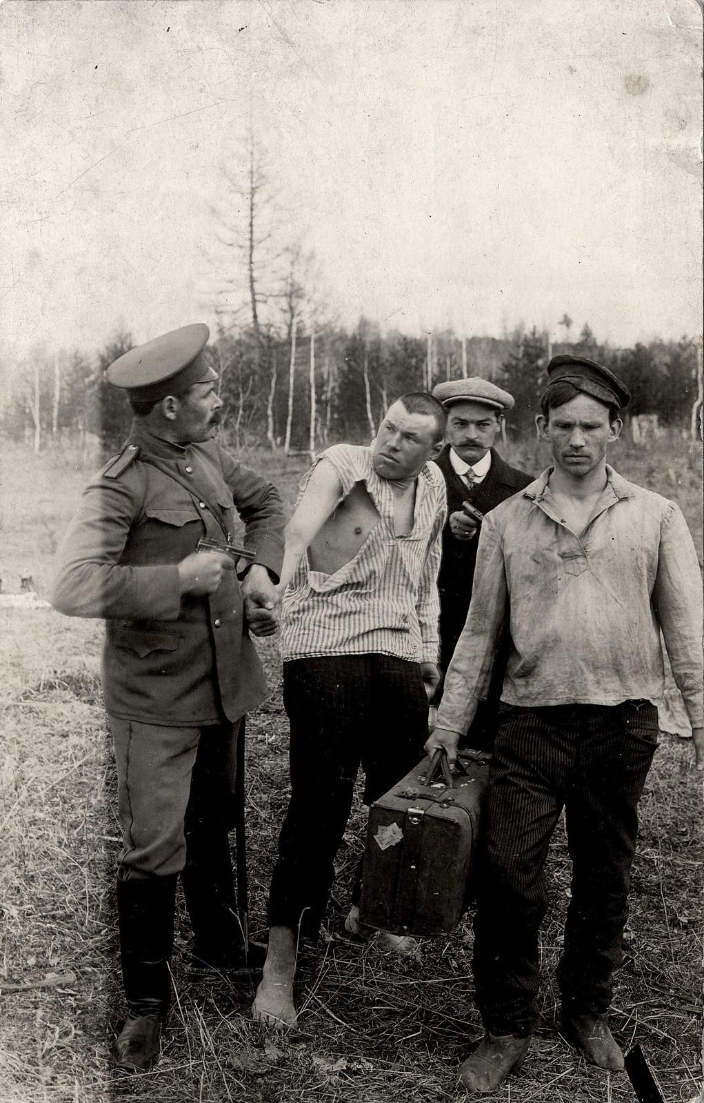 1913. Шуточная сценка «Арест»