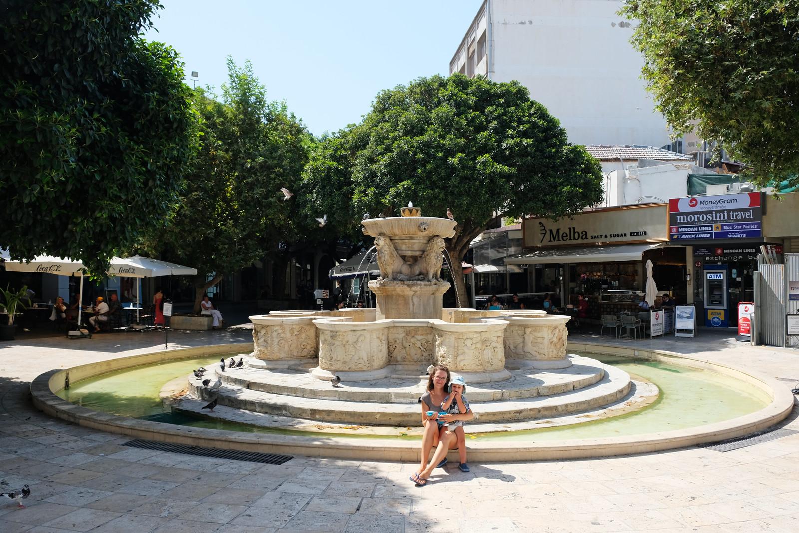 Lions Square, Heraklion, Crete, Greece