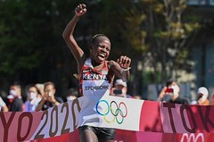 Olympijský maraton ve výhni opanovaly Keňanky, Seidel urvala pro USA bronz