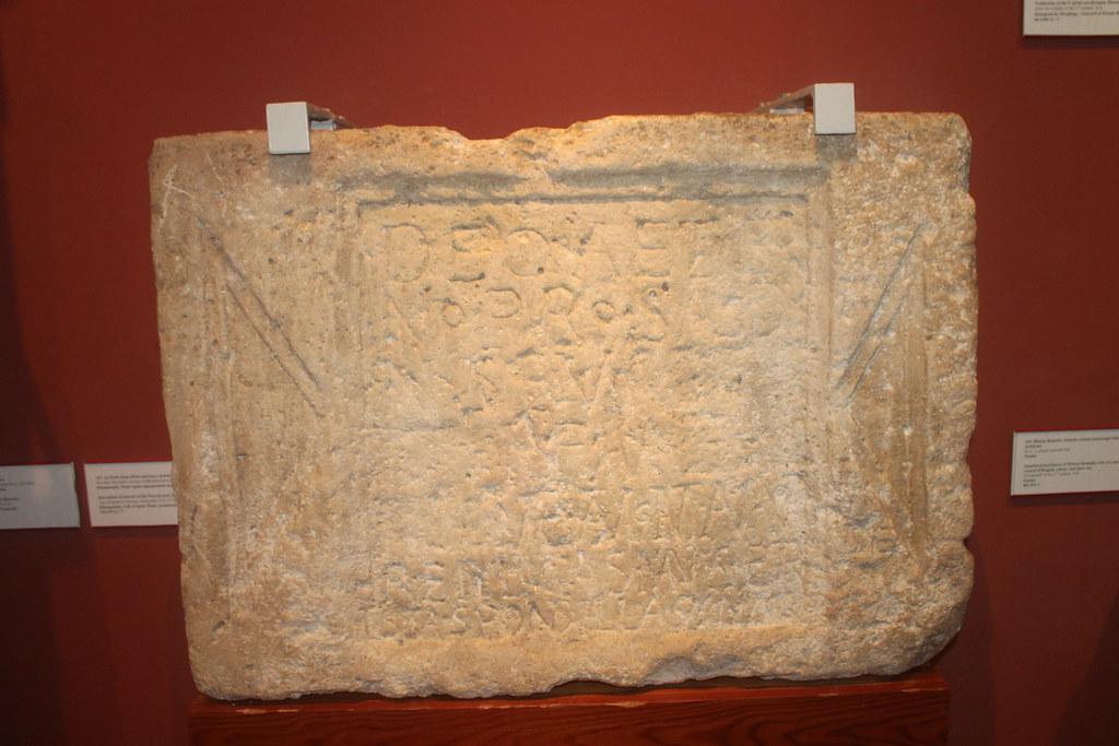 Inscription to Deus Aeternus