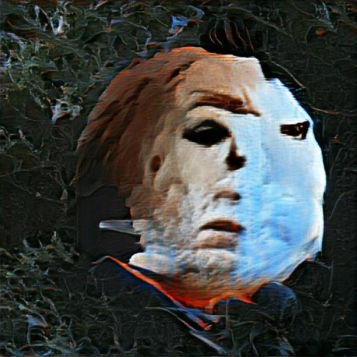 'Michael Myers' Big Sleep Minmax Text-to-Image