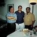 Con mis grandes amigos Manolo Galeote y Antonio Cruz Casado en Iznájar - septiembre 1999