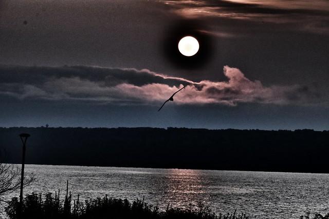 Sunrise Over Keweenaw Bay
