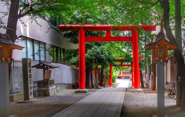 Hanazono Shrine, Shinjuku.