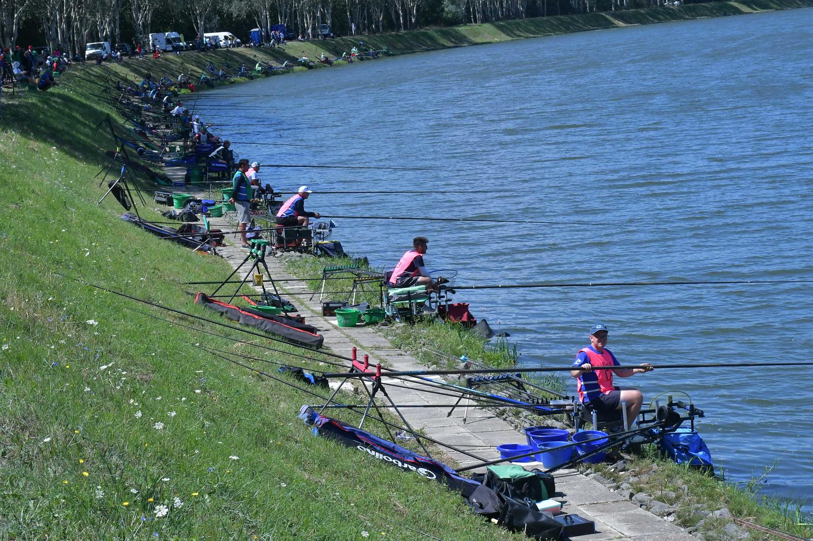 Szolnok megyében versenyez több ország kiváló horgásza