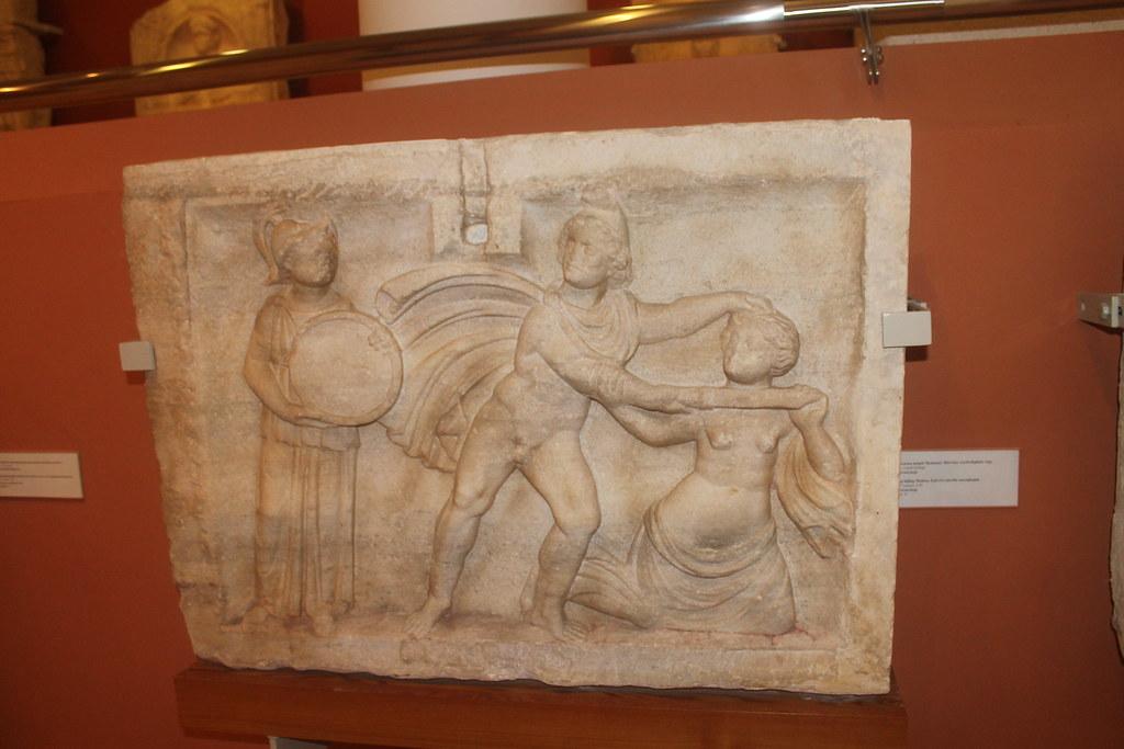 Relief of Perseus killing Medusa