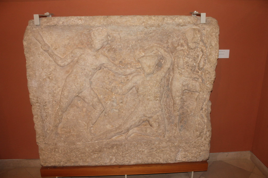 Relief of Theseus and the Minotaur