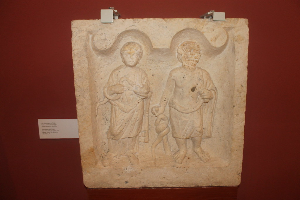 Relief of Aesculapius and Hygeia