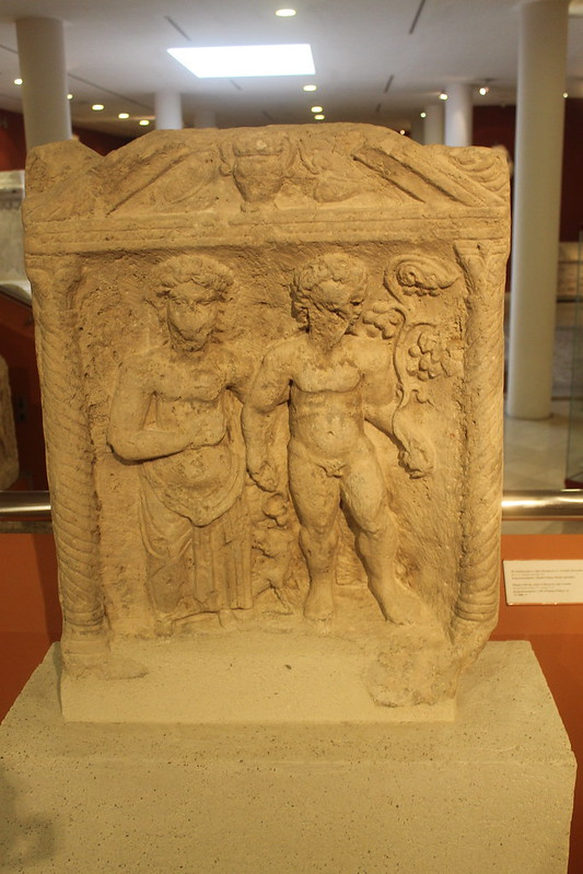 Relief of Bacchus and Ariadne