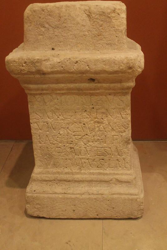 Altar dedictaed by L. Naevius Campanus