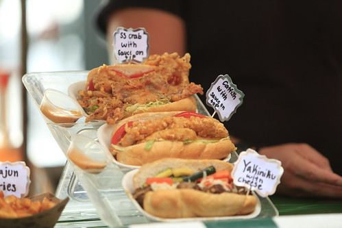 Food at Satchmo SummerFest 2021. Photo by Michele Goldfarb.